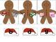 Ending Sounds Word Work Activity Build a Gingerbread Man D
