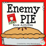 Enemy Pie Book Study and Activities