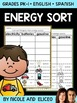 Energy Sorting Activity
