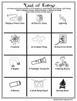 Energy Hunt - Kinds of Energy