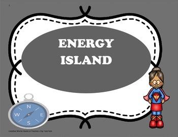 Energy Island ( Reading Wonders) 4th Grade - Tri-Folds + A