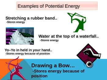 Energy! Potential and Kinetic Energy