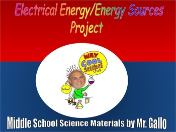 NGSS Energy Sources Project
