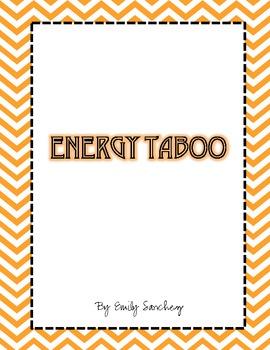 Energy Taboo