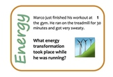 Energy Transformation Activity Cards