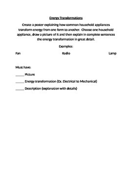Energy Transformation Project