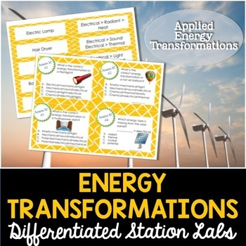 Energy Transformations Student-Led Station Lab