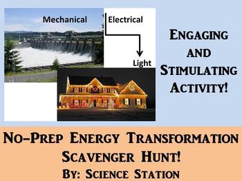Energy Transformations Scavenger Hunt