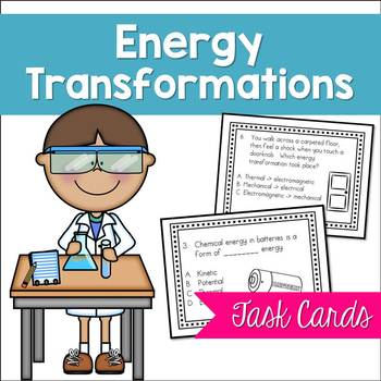 Energy Transformations Task Cards