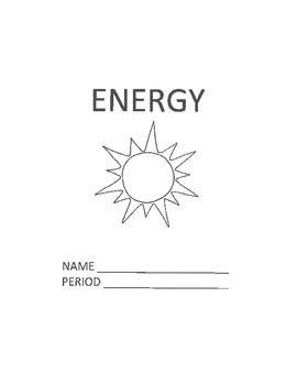 Energy Unit Packet/Work