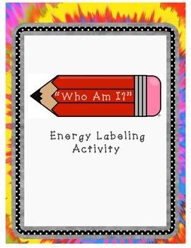 Energy Who Am I? Labeling Activity