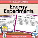 Energy Science Experiments