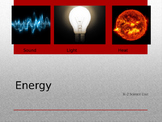 Energy ... a Science PPT for Young Learners