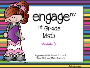 Engage NY, 1st Grade Math, Module 3, I Can Statements and