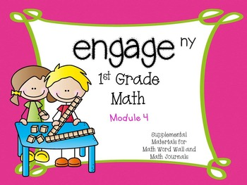 Engage NY, 1st Grade Math, Module 4, I Can Statements and