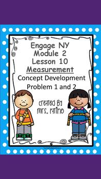 Engage NY 2nd Grade Math Module 2 Lesson 10 Concept Develo