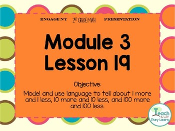 Engage NY Smart Board 2nd Grade Module 3 Lesson 19