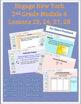 Engage NY 2nd Grade Module 4 Lesson 23, 24, 27 and 28