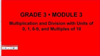 Engage NY 3rd Grade Common Core Entire Math Module 3- Topi