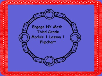 Engage NY 3rd Grade Math Module 1 Lesson 1
