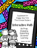 Engage NY 3rd Grade Math Module 4 Notebook: No Prep, Effic