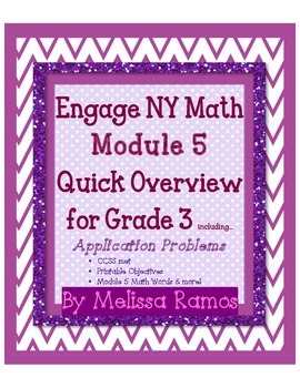 Engage NY 3rd Grade Math Module 5 FRACTIONS Overview with