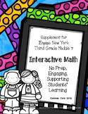 Engage NY 3rd Grade Math Module 7 Notebook: No Prep, Effic