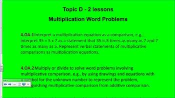 Engage NY 4th Grade Common Core Math Module 3-Topic D