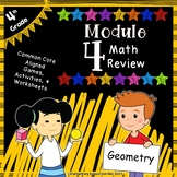 Engage NY 4th Grade Module 4 Review Pack - Angle Measure &