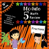 Engage NY 4th Grade Module 5 Review Pack - Fractions