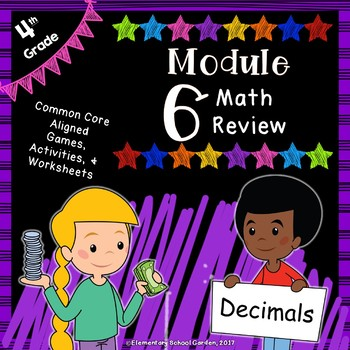 Engage NY 4th Grade Module 6 Review Pack - Decimals