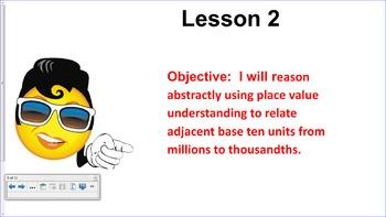 Engage NY 5th Grade Common Core Math Module 1-Topic A