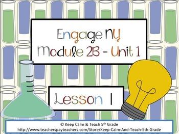 Engage NY 5th Grade Language Arts-Module 2B, Unit 1, Lesson 1