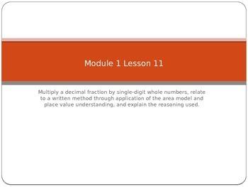 Engage NY 5th grade Module 1 Lesson 11