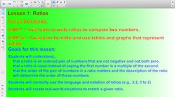 Engage NY Eureka Math 6th Grade Math Module 1: Ratios and