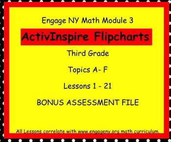 Engage NY ActivInspire  3rd Grade Module 3 Lessons 1-21