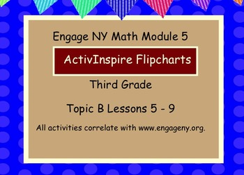 Engage NY ActivInspire  3rd Grade Module 5 Topic B