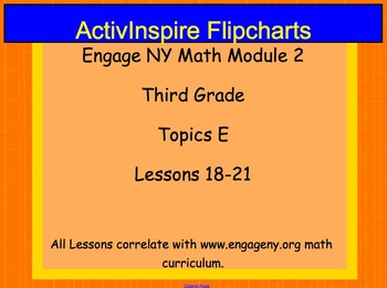 Engage NY ActivInspire Lesson 3rd Grade Module 2 Topic E