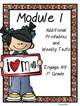 Engage NY, Additional Printables and Weekly Tests, Module