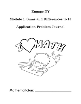 Engage NY Application Problem Journal