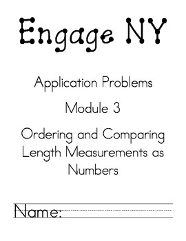 Engage NY Application Problems Module 3