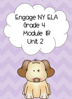 Engage NY ELA, Grade 4, Module 1b, Unit 2, Love That Dog