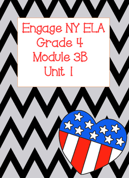Engage NY ELA Grade 4, Module 3b Unit 1