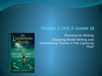 Engage NY ELA Grade 6 Module 1 Unit 2 Lesson 16--The Light