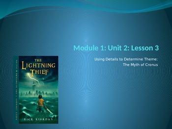Engage NY ELA Grade 6 Module 1 Unit 2 Lesson 3--The Lightn
