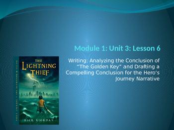 Engage NY ELA Grade 6 Module 1 Unit 3 Lesson 6--The Lightn