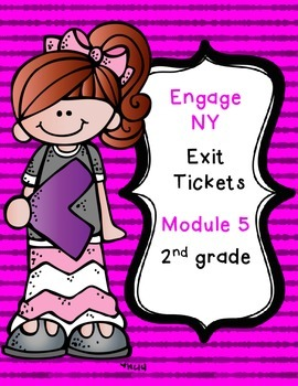 FREEBIE - Engage NY Eureka Math EXIT Tickets-  Module 5
