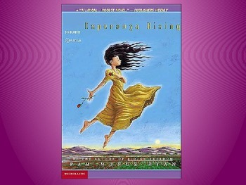 Engage NY Esperanza Rising Lesson 15