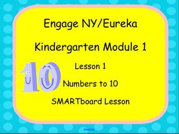 Engage NY Eureka SMARTboard Kindergarten Module 1 Lesson 1