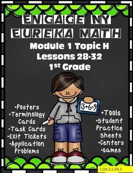 Engage NY {Eureka Math}1st Grade Module 1 Topic H Lessons 28-32